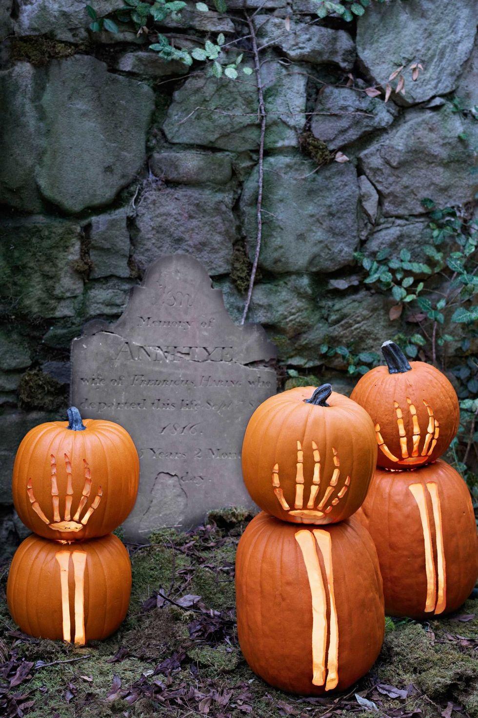 Halloween-i Zombi csontvázak