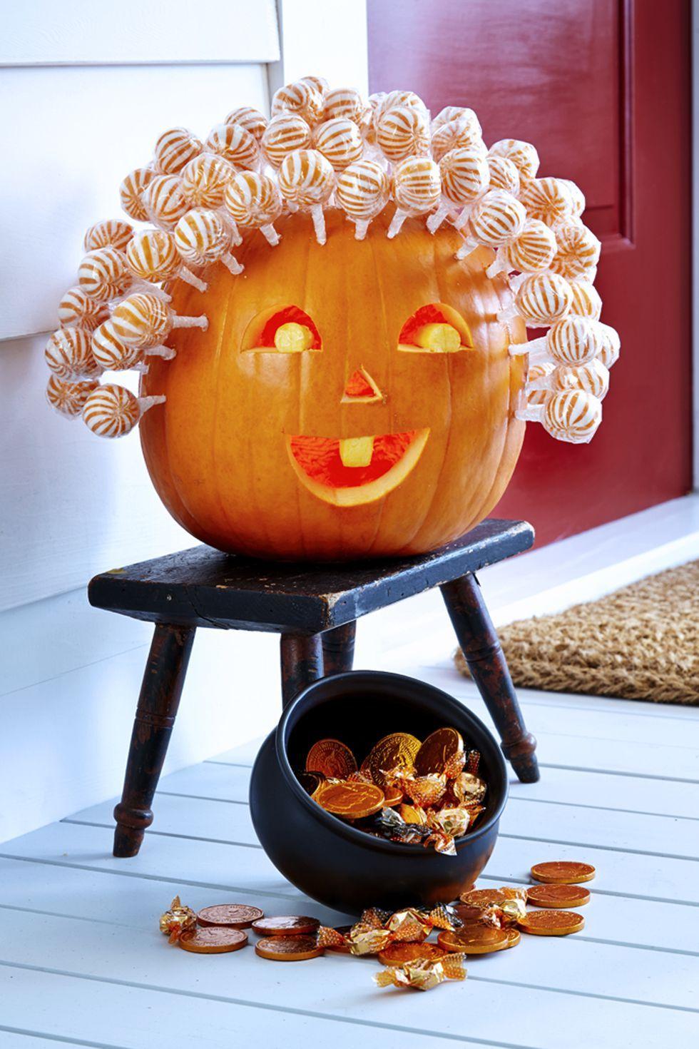 Halloween-i nyalóka tök