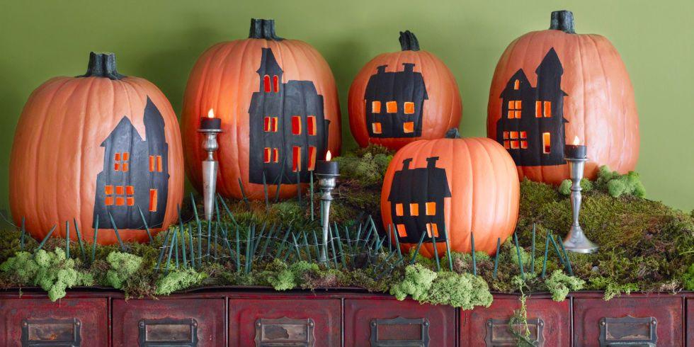 Halloween-i városkép