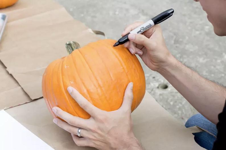 Halloween tök készítés legegyszerűbb módszere