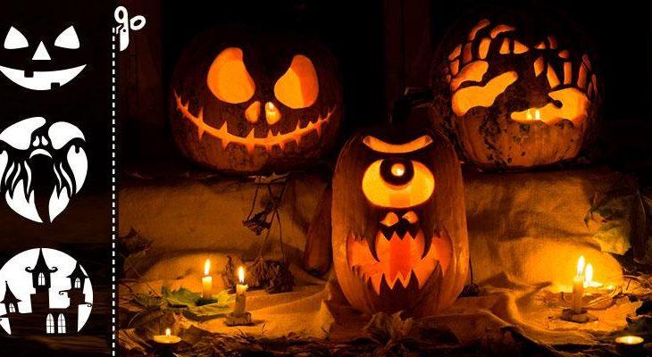 Halloween tök nyomtatható sablonok