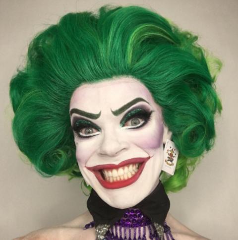 Joker halloween smink ötletek - halloweenkor.hu