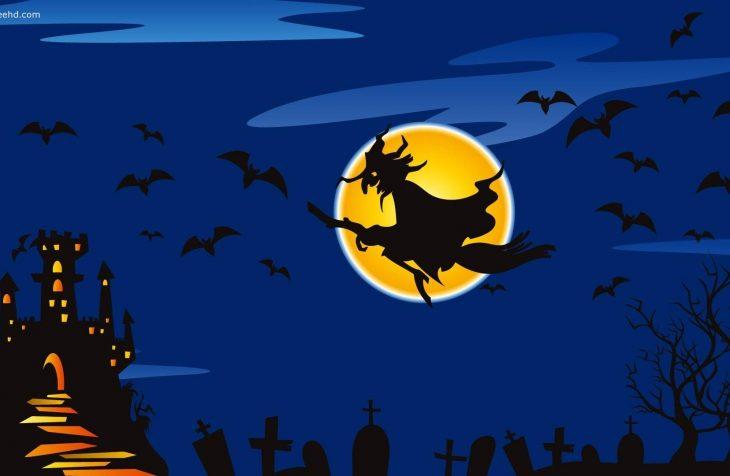 halloween boszorkány