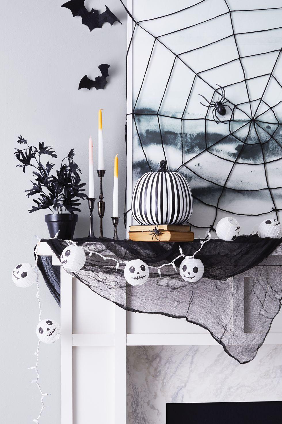 Pókháló borító Halloween dekoráció