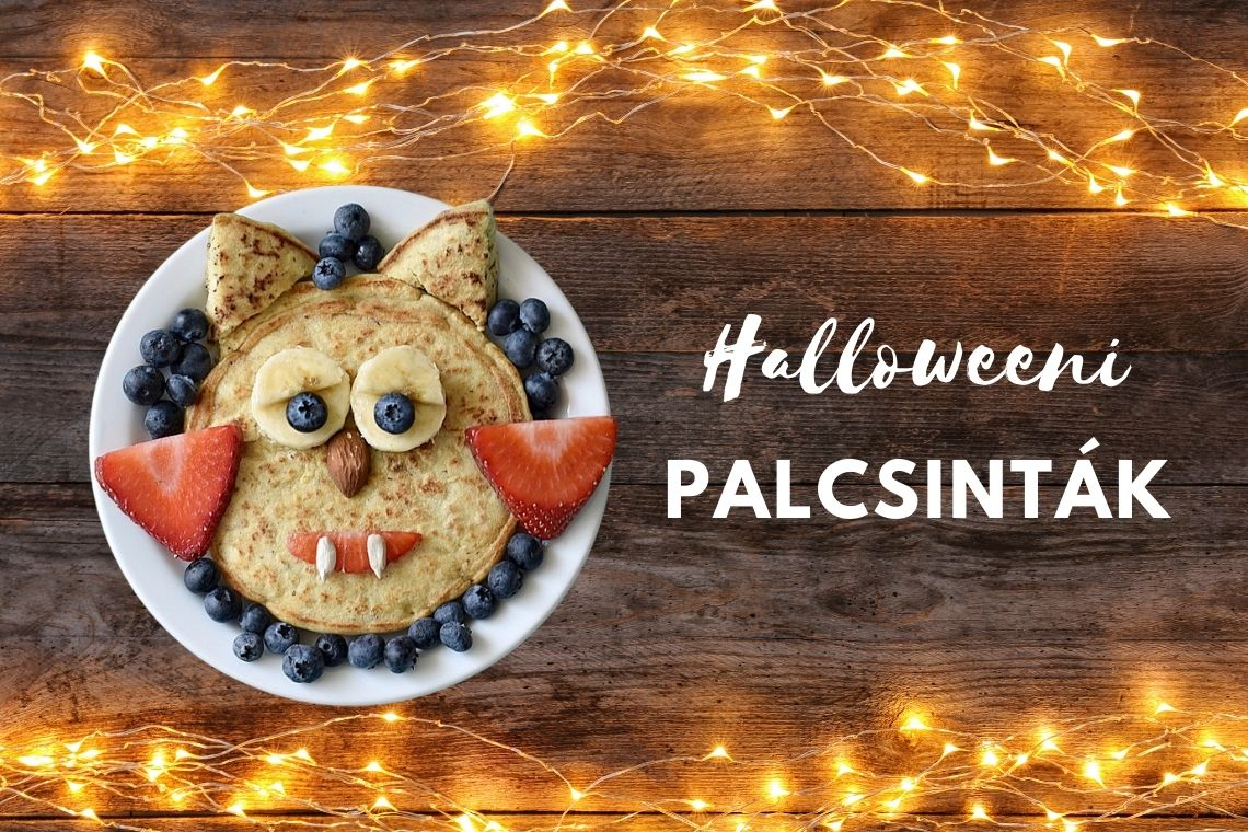 Halloweeni palacsinta recept